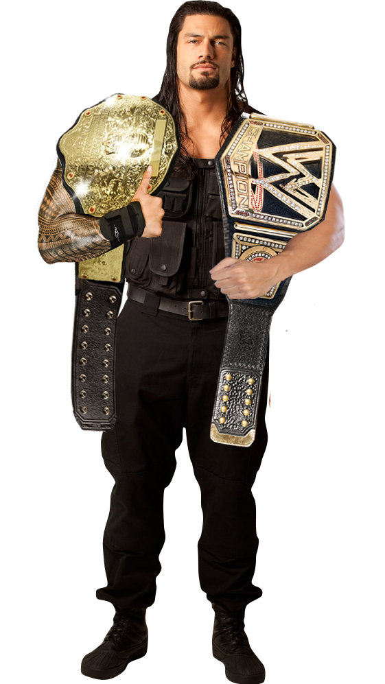 new WWE Champion Roman Reigns wins titles
