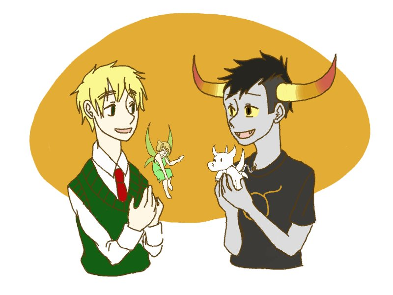 Homestuck Hetalia Crossover by lewut