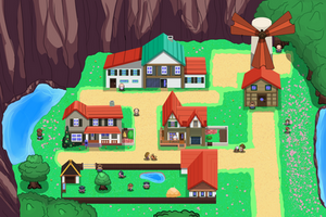 Philosopha Town by DreamyWaffle