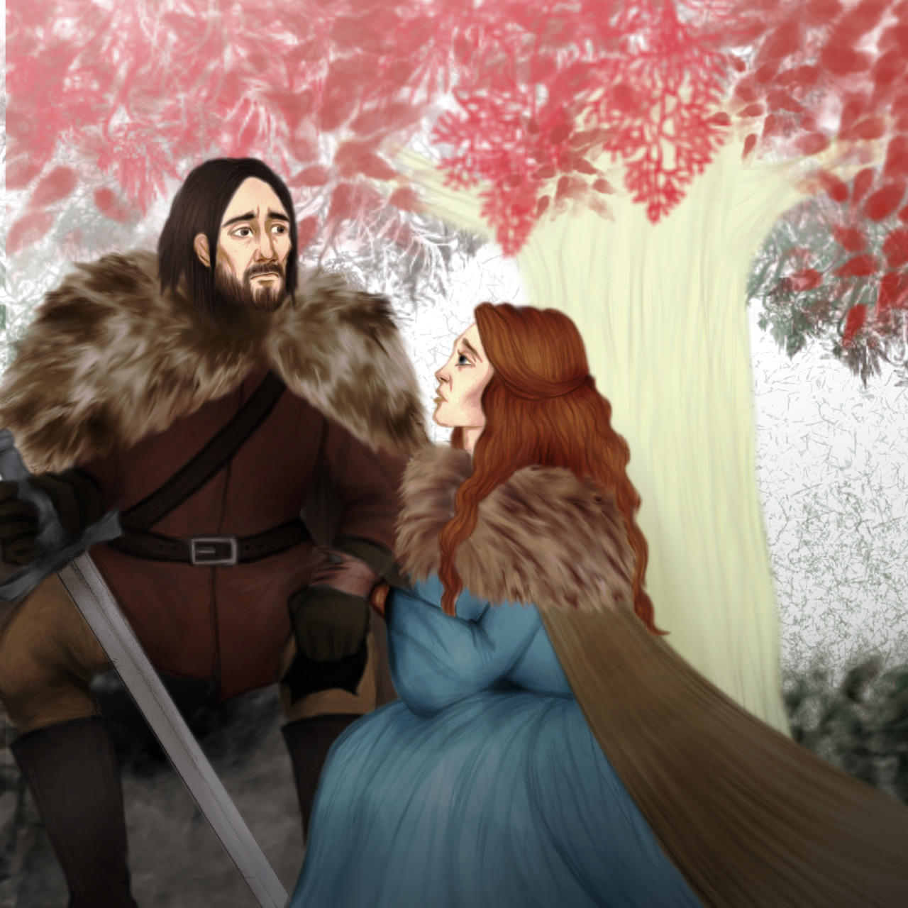 Game of Thrones - Catelyn I. by Hed-ush
