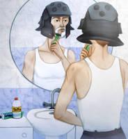 Pudding-basin beardcut by Hed-ush