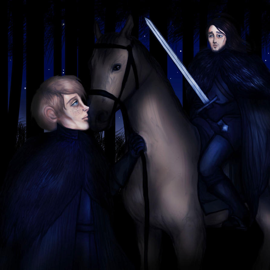 Game of Thrones - Jon IX. by Hed-ush