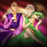 Clash of Kings - Daenerys III. by Hed-ush