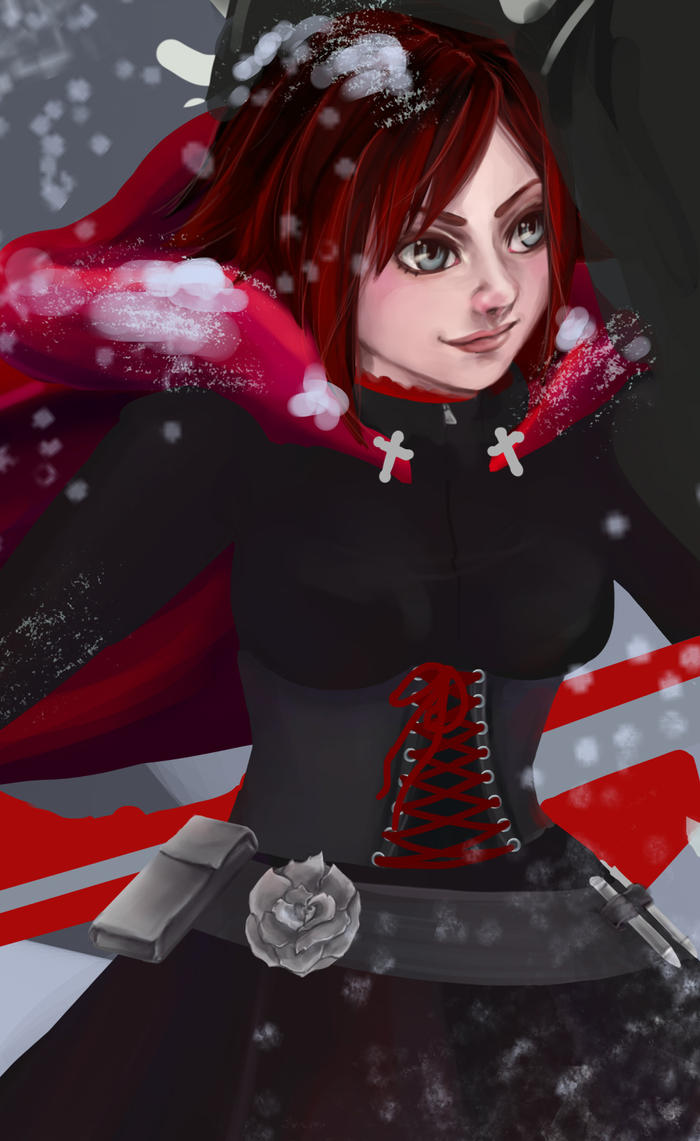 WIP Ruby Rose by RandomRezz