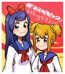 Pop Team Epic Girls