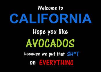 Warning: California Avocados
