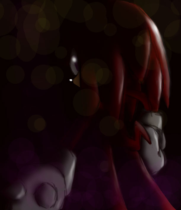 Knuckles out of Darkness by RhythmAx