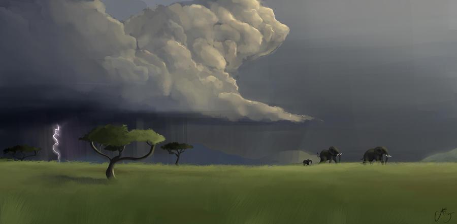 African Rain by RhythmAx