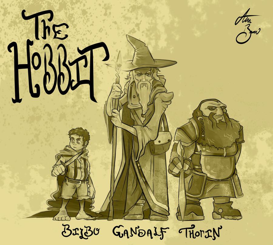 The Hobbit by RhythmAx