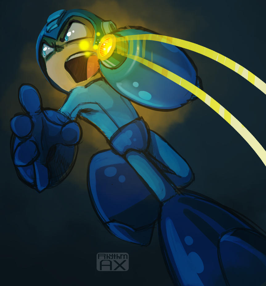 Mega Man by RhythmAx