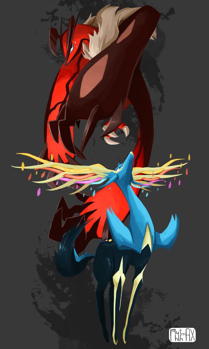 Pokemon X and Y by RhythmAx