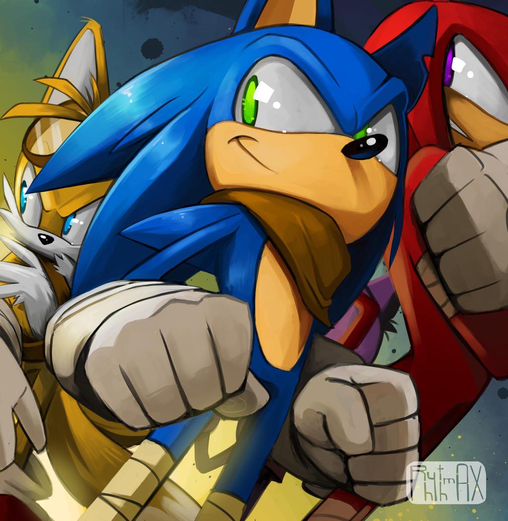 Sonic Boom by RhythmAx