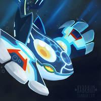 Alpha Kyogre by RhythmAx
