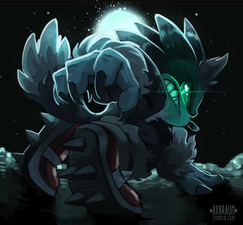 Midnight Werehog By Rhythmax On Deviantart