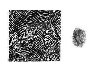 Fingerprint Design by DiamondDropsOfMakai