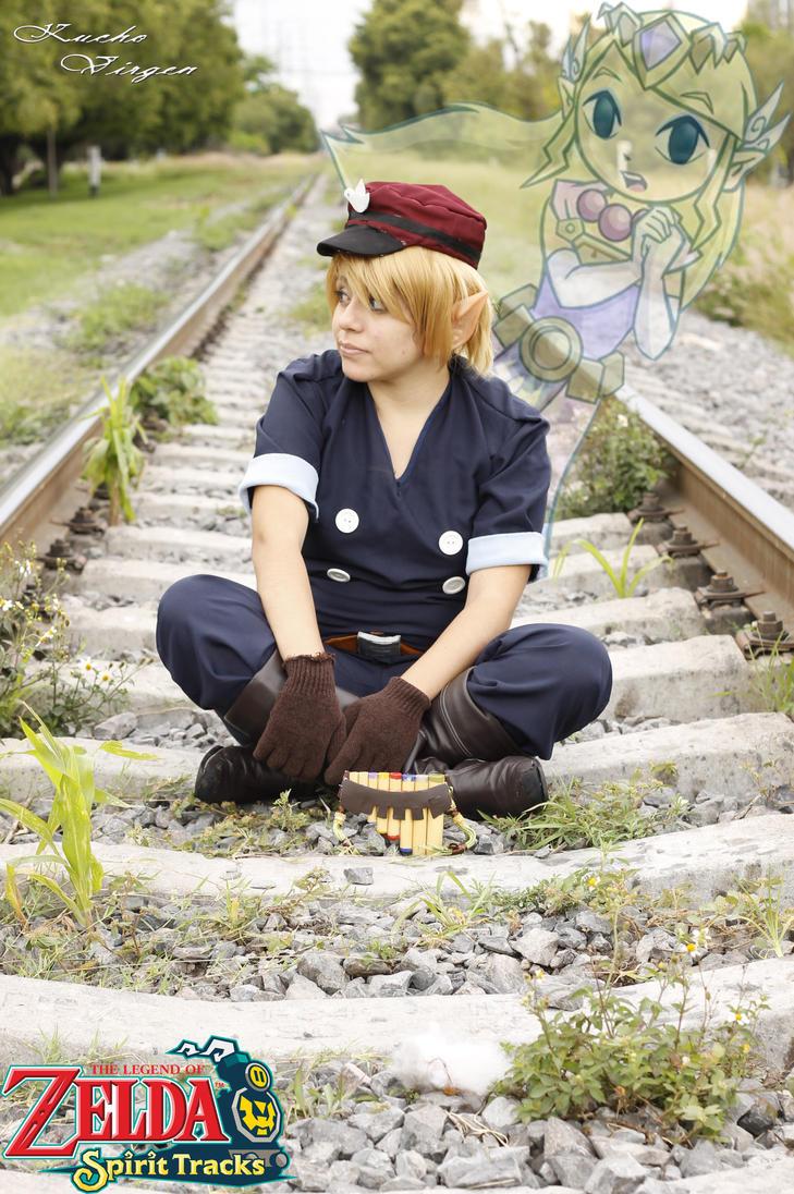 ::. Link -The Legend Of Zelda: Spirit Tracks- .:: by PiTIkArUz
