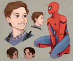 More Spider-man sketches