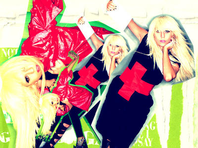 Lady Gaga-wallpaper by exit-gfx