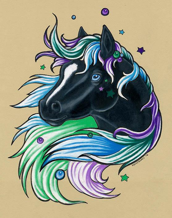 Starhorse by xenotropos