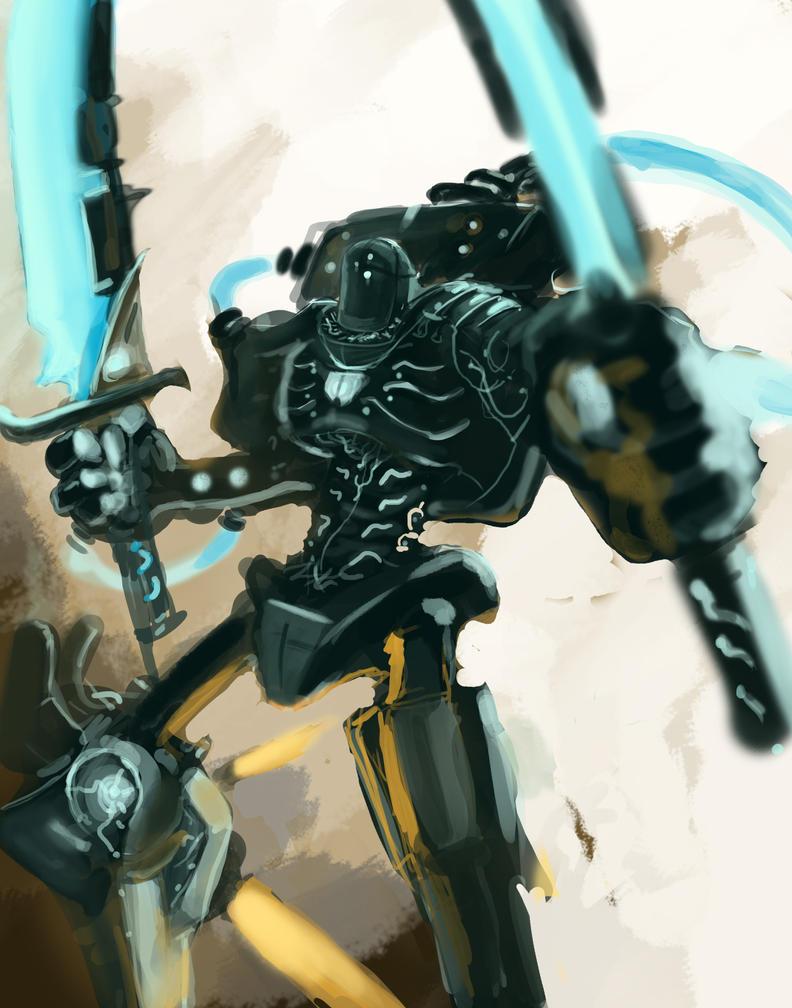 Speedpaint Robot by Erebus88