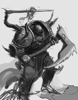 Chaos Warrior by Erebus88