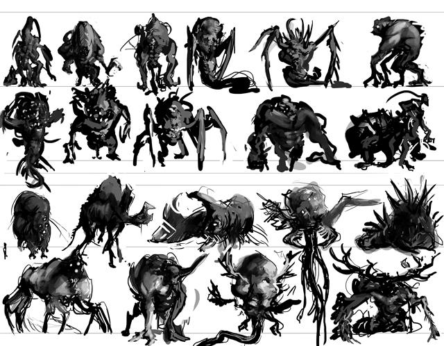 Alien Thumbnails by Erebus88
