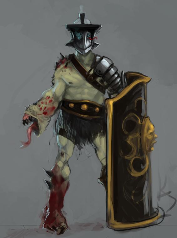 Demon Thracian by Erebus88