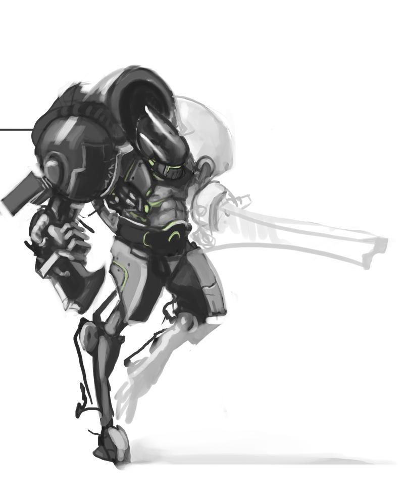 Cyber Hound by Erebus88