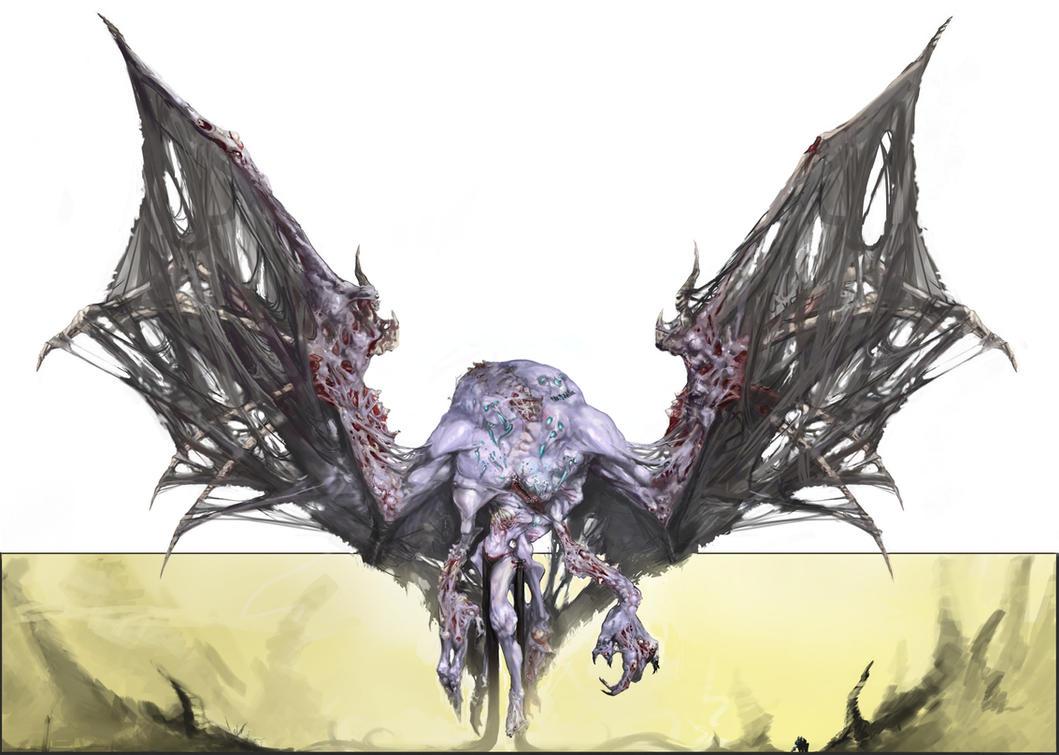 Nirgali - Death Plane Colossus by Erebus88