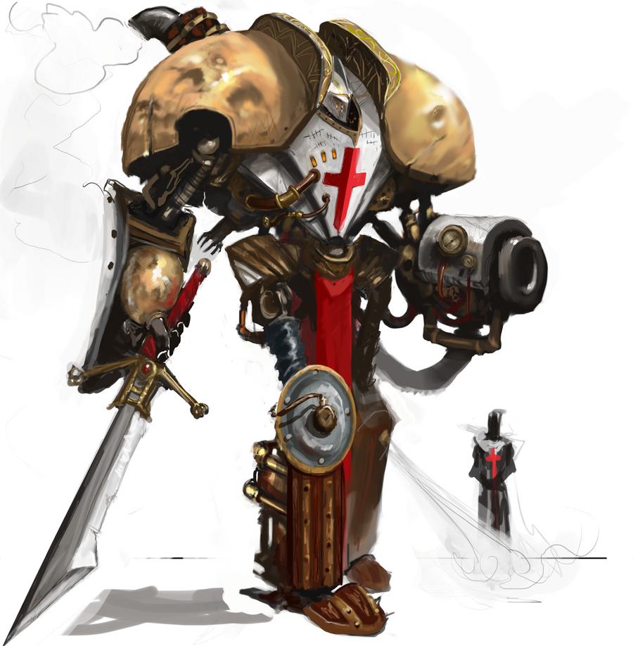 Steampunk Templar by Erebus88