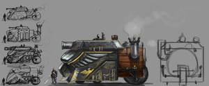 Angel Guard Steam Tank by Erebus88