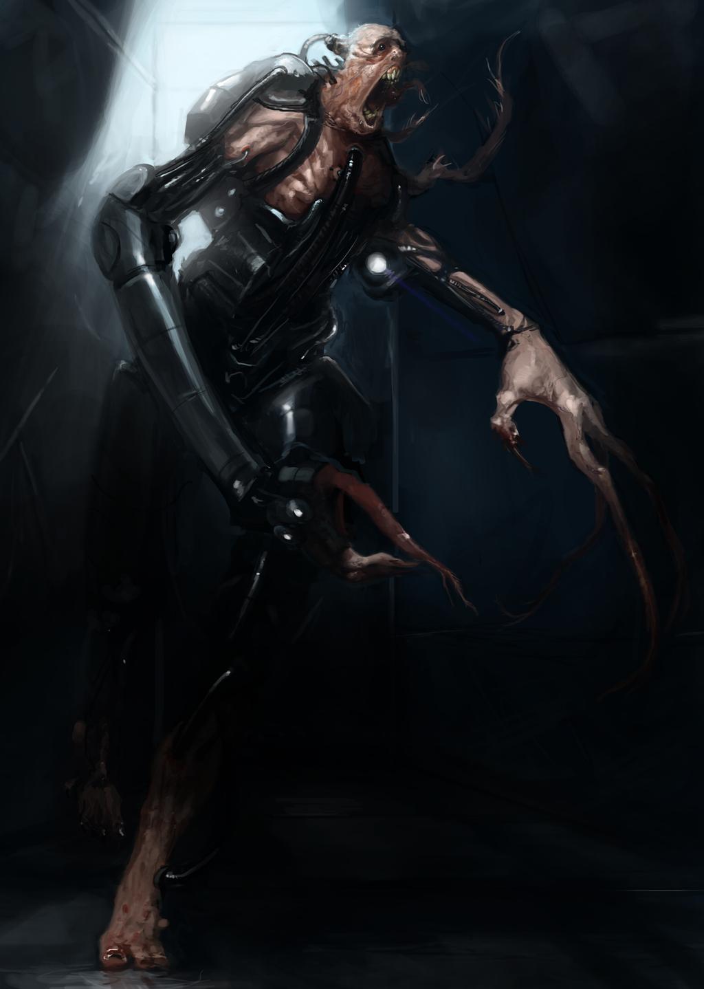 Sci-Fi Zombie by Erebus88