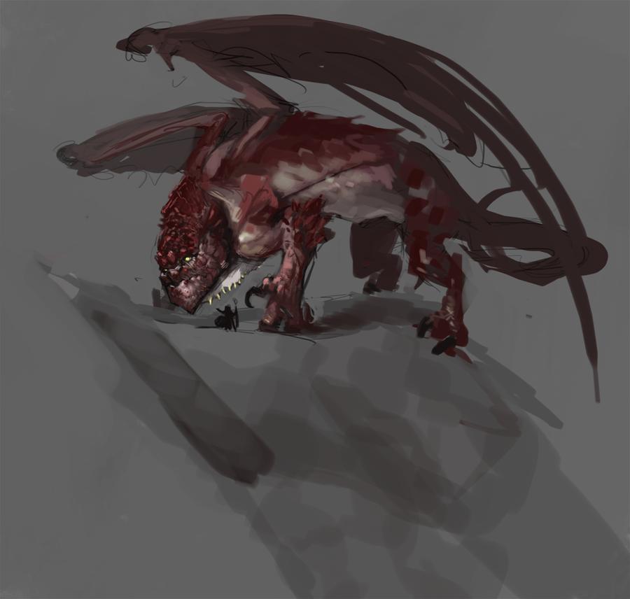 Red Dragon by Erebus88