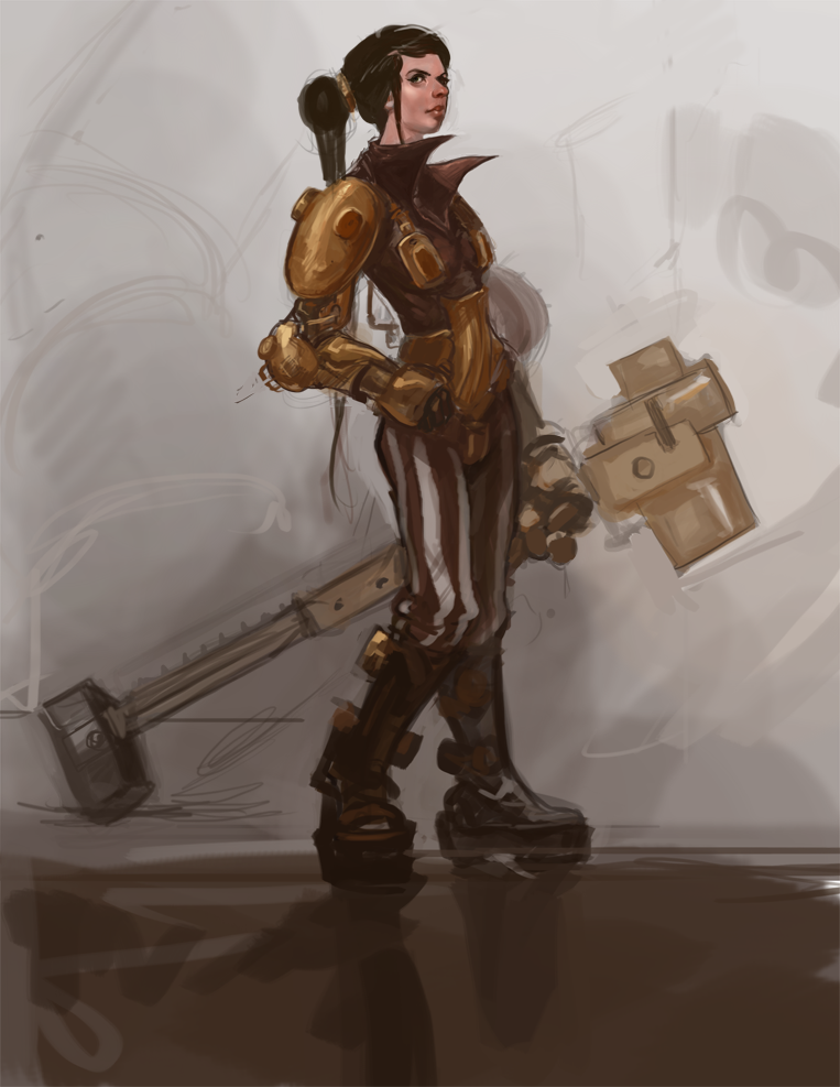 Steampunkery by Erebus88