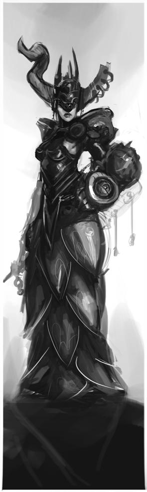 Archfiend Priestess by Erebus88