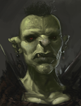 The Orc King's Daughter WIP