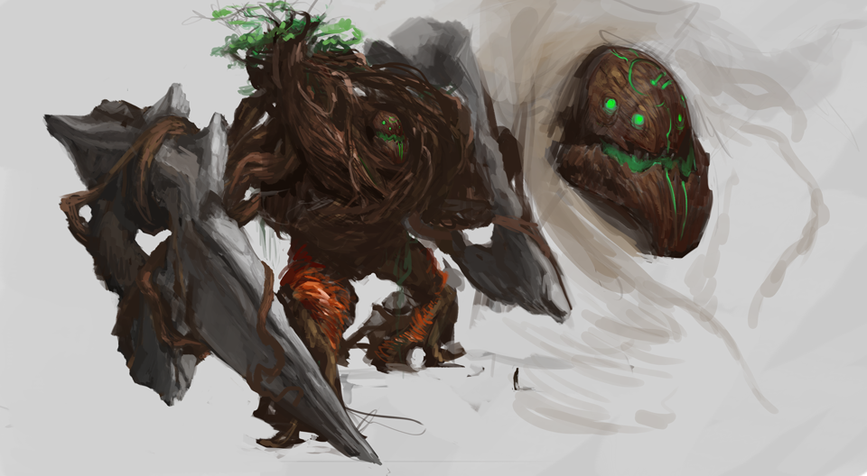 Forest Colossus by Erebus88