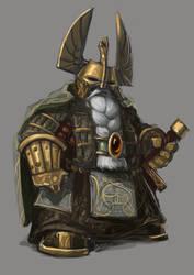 Dwarf Warrior by Erebus88