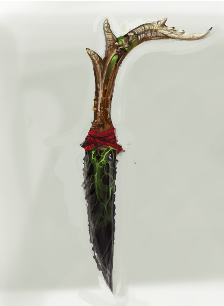 Ceremonial Knife by Erebus88
