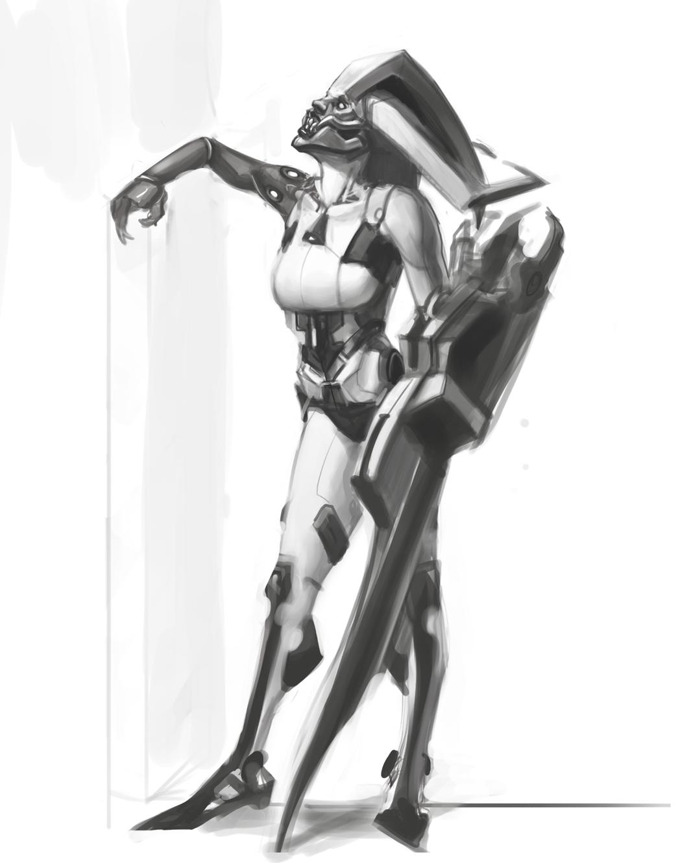 Demon Droid by Erebus88