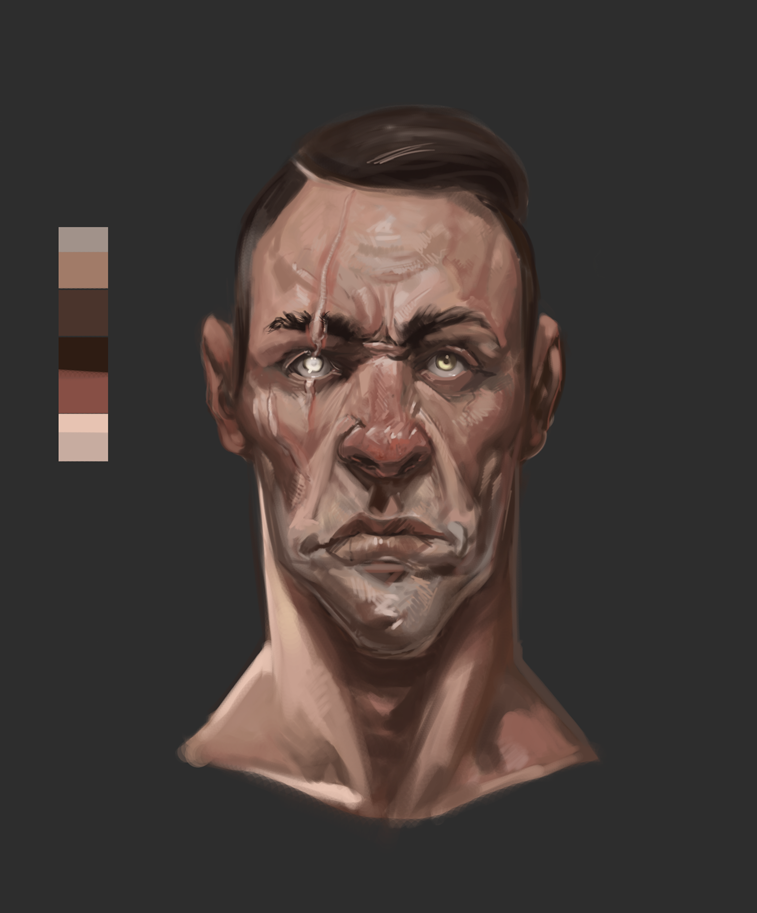 Skin Tone Study by Erebus88
