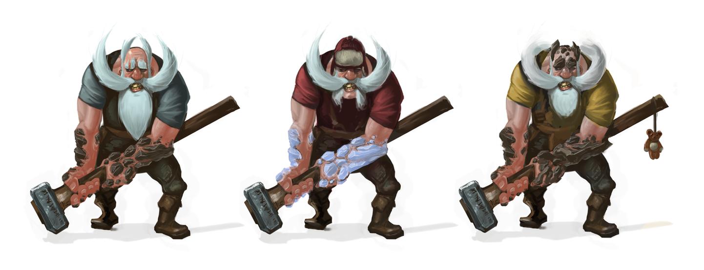 Old Man Sledge by Erebus88