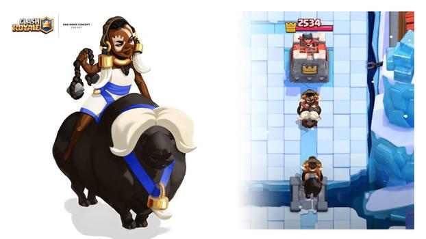 Clash Royale - Ram Rider Fan Art Concept