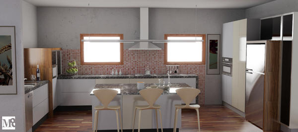 Kitchen NZ 01 Render by BENdintenSON
