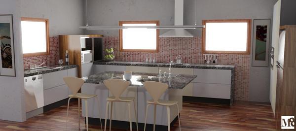 Kitchen NZ 02 Render by BENdintenSON