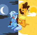 Trixie and Cheese