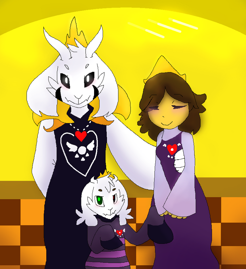 Chara And Asriel S Room
