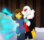 Hold Still~ (AU/Underfell)