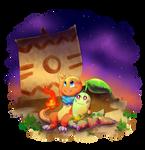 [Gift] Team Forestfire by SketchyGarden