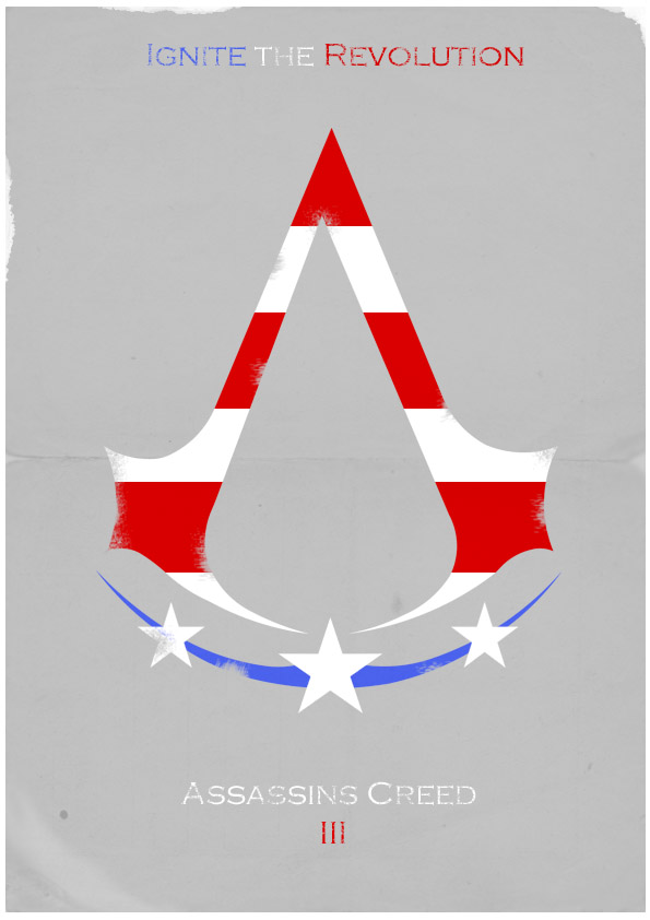 Assassin's Creed 3 Poster by W0op-W0op